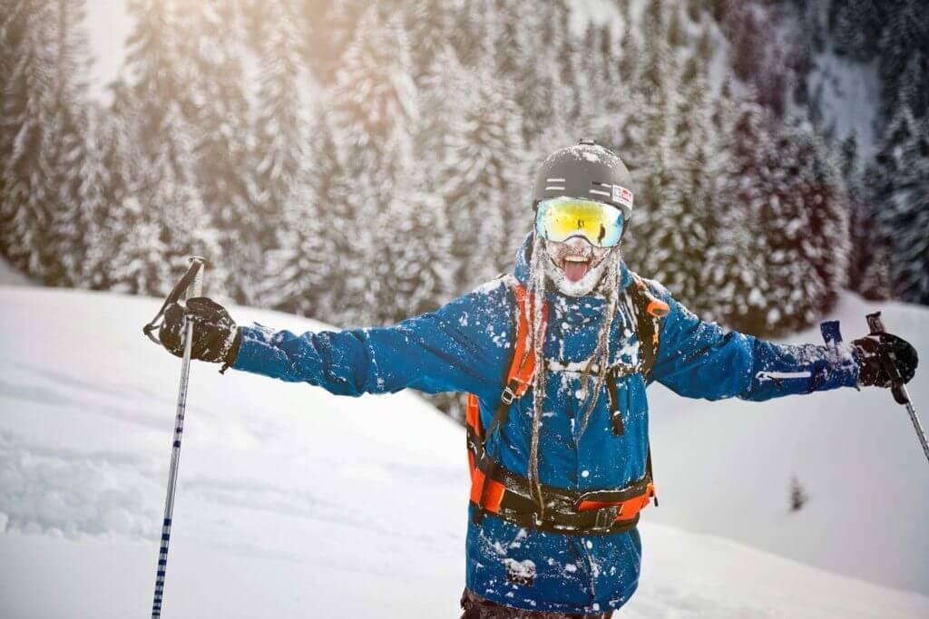 Skifahren, Skiurlaub, Saalbach-Hinterglemm, Winter, HolidayFlats24, Salzburger Land, Freeriden in Saalbach Hinterglemm Fotorechte: Saalbach.com Mirja Geh