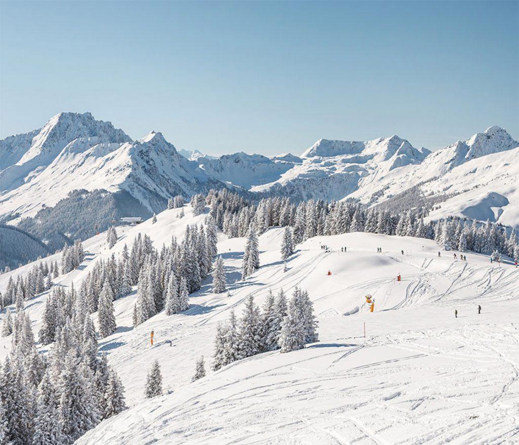 Skigebiet in Saalbach Hinterglemm im Salzburgerland, Fotorecht: saalbach.com | Christian Woeckinger
