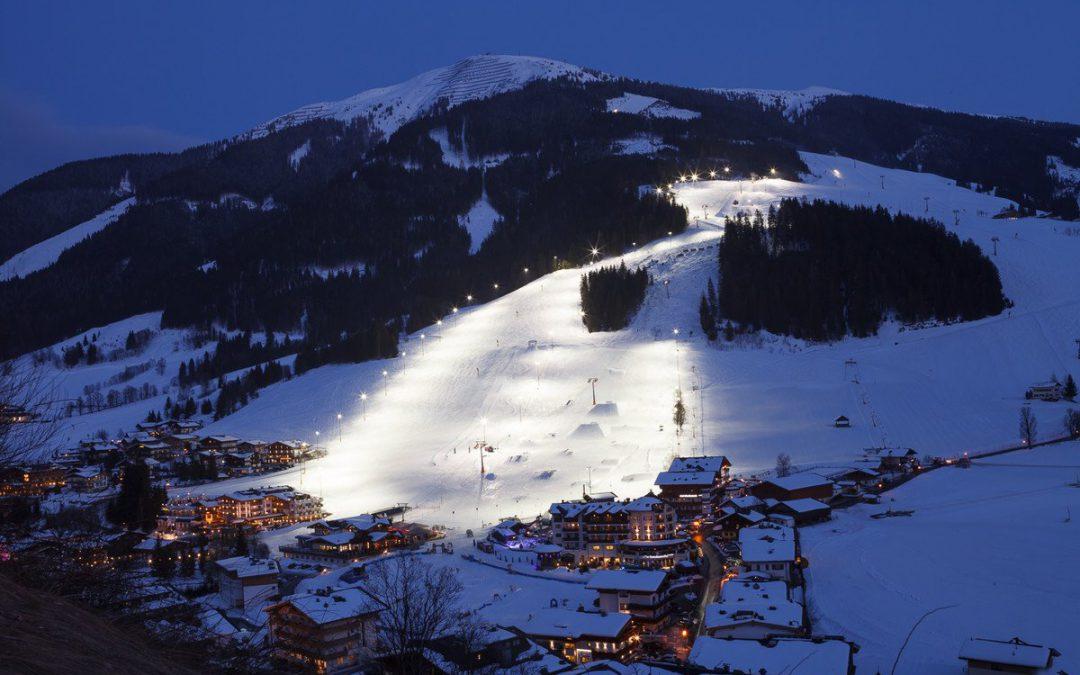 Nachtskifahren in Hinterglemm und Leogang