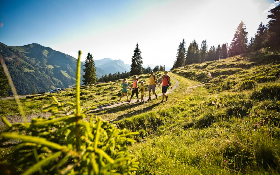 Bogenschießen in Saalbach und Viehhofen