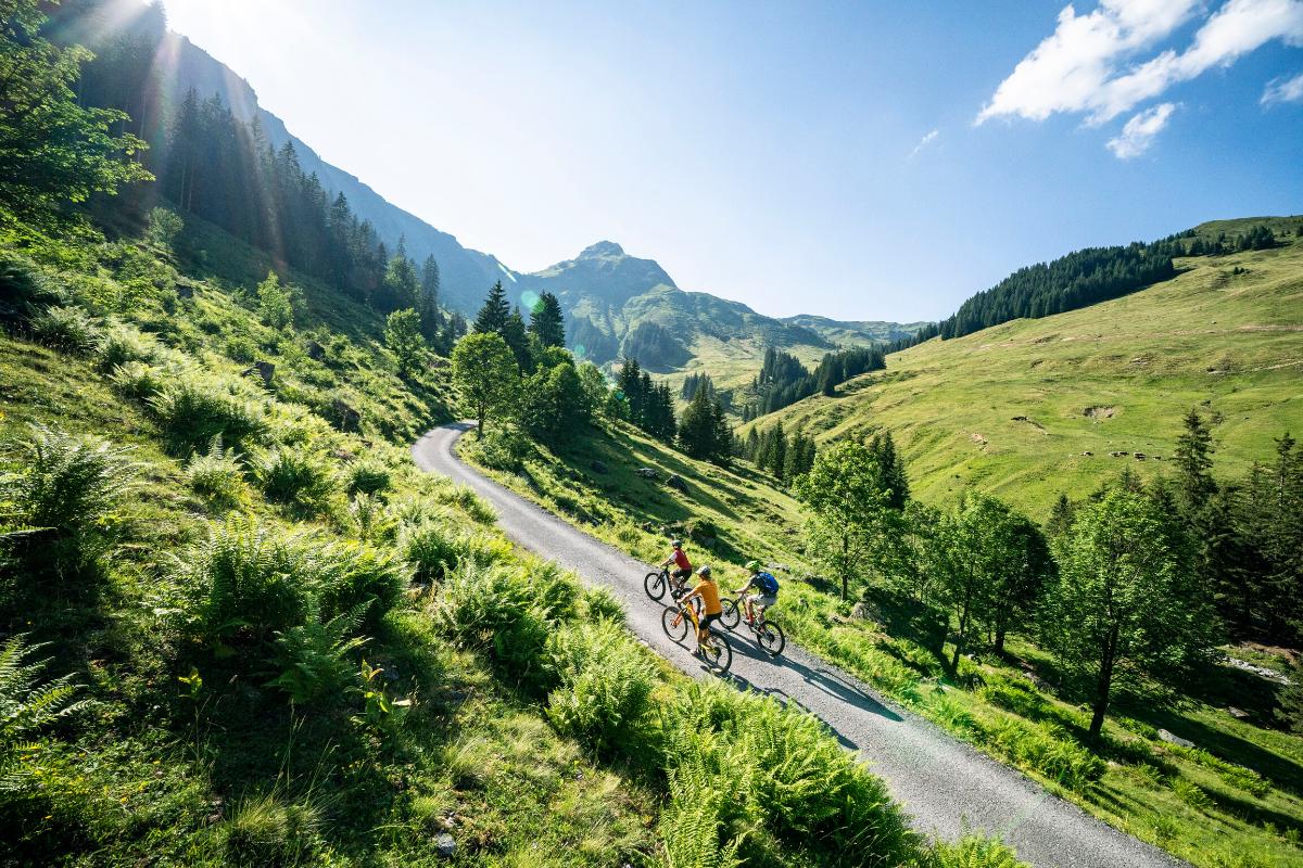 Bike-Tour durch Saalbach