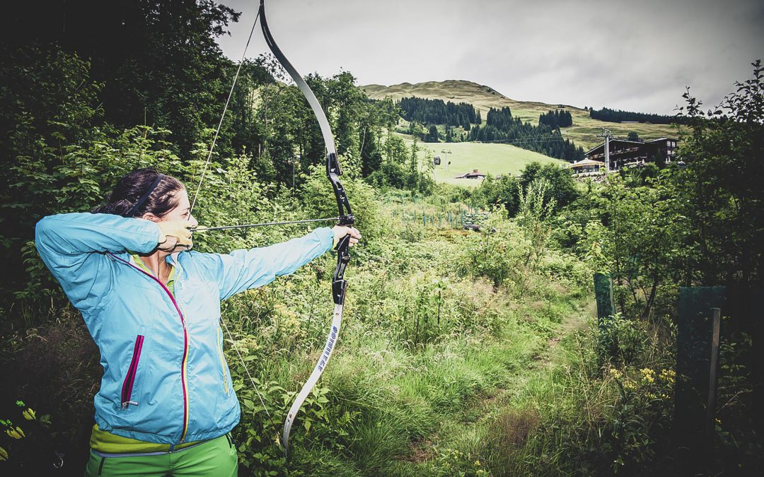 Archery in Saalbach and Viehhofen