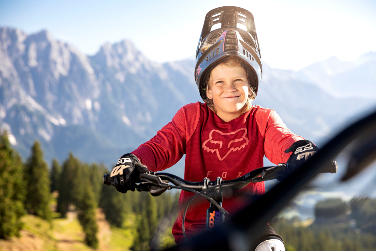 Saalbach auf dem Mountainbike