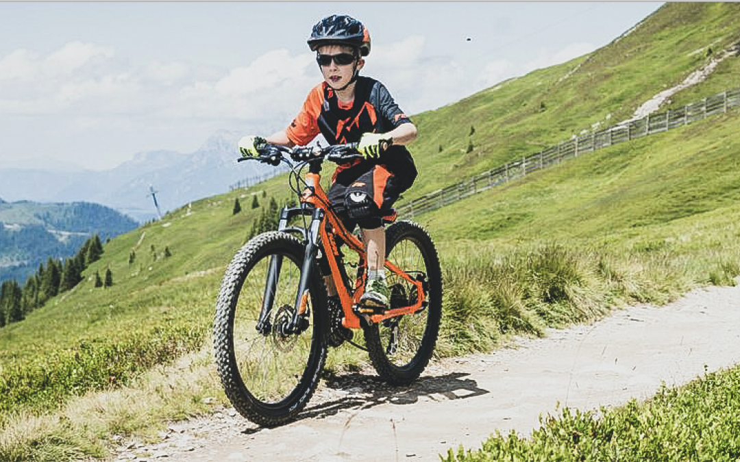 Saalbach on the mountainbike for kids