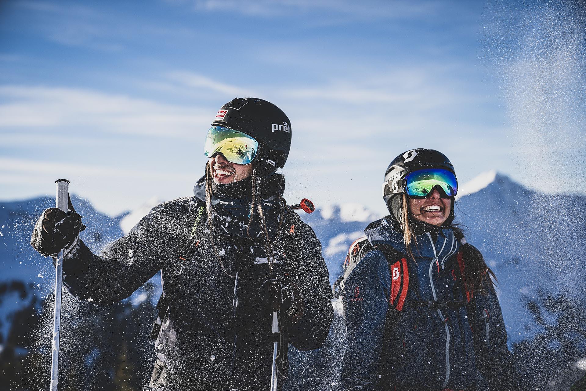 Winter in Saalbach Hinterglemm mit HolidayFlats24