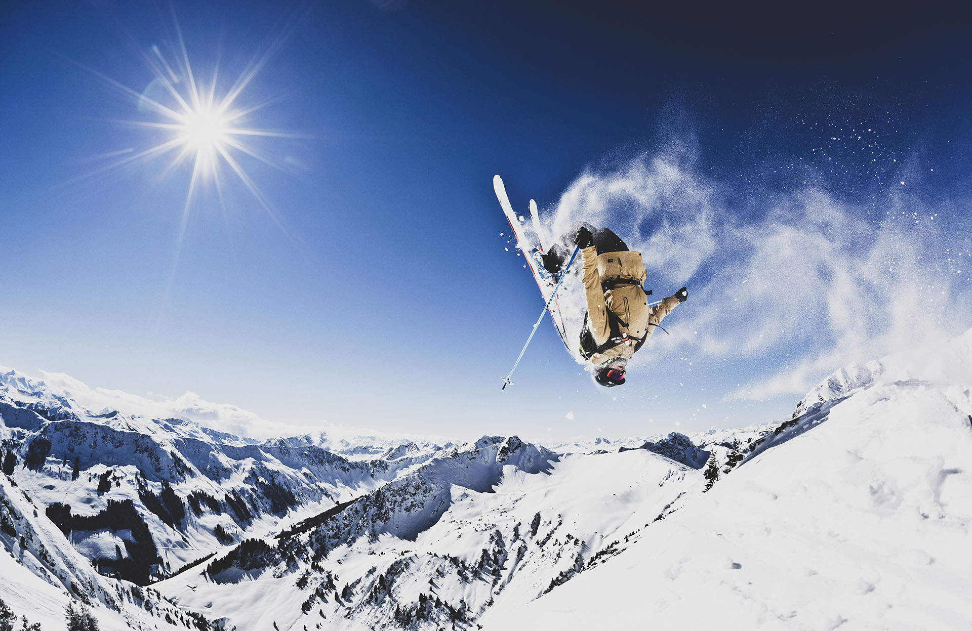 Skifahren in Saalbach Hinterglemm Leogang Fieberbrunn