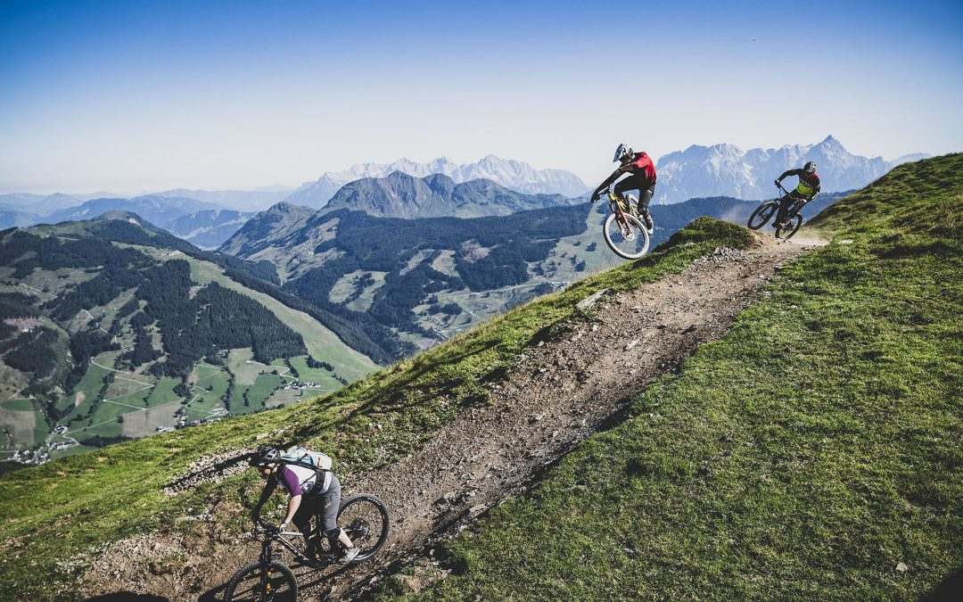 Easy E-Bike tours through Saalbach
