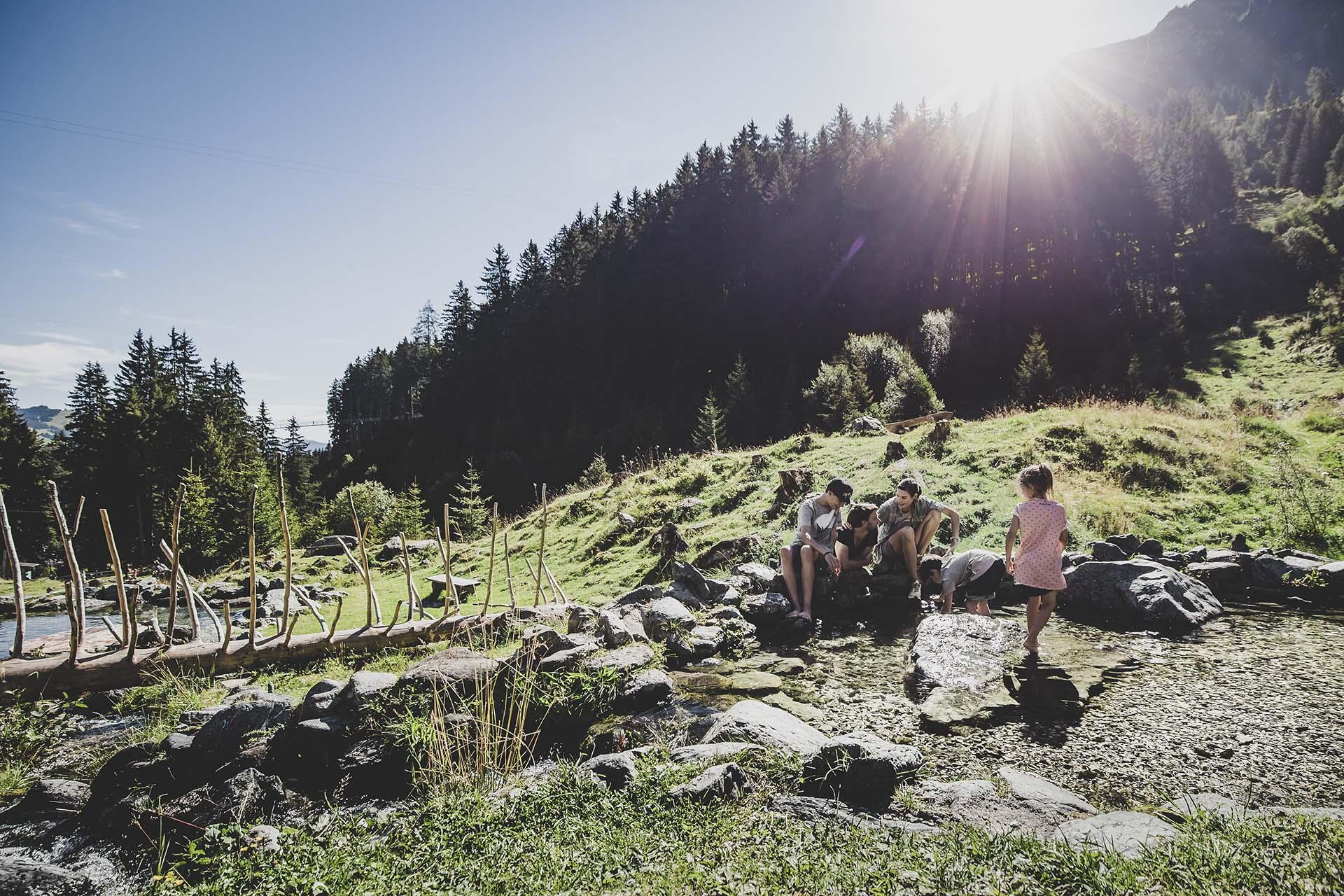 Sommerurlaub mit der Familie in Saalbach Hinterglemm