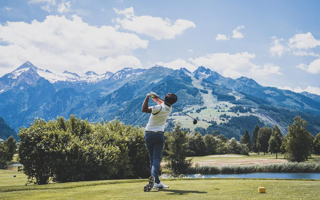 Tee off at the golf club Saalbach Hinterglemm